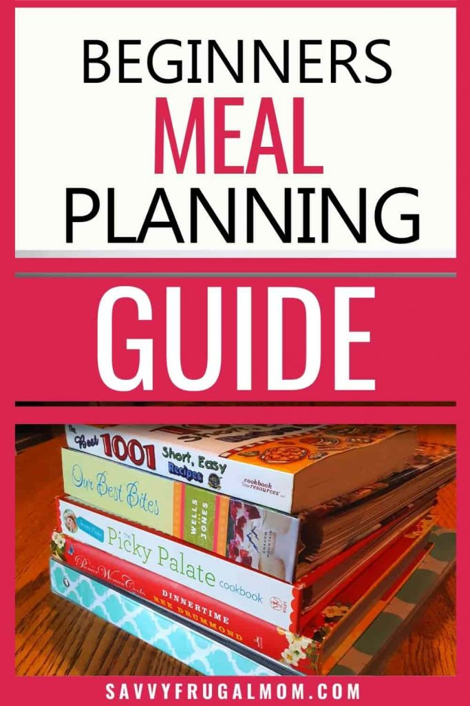 how to meal plan for beginners