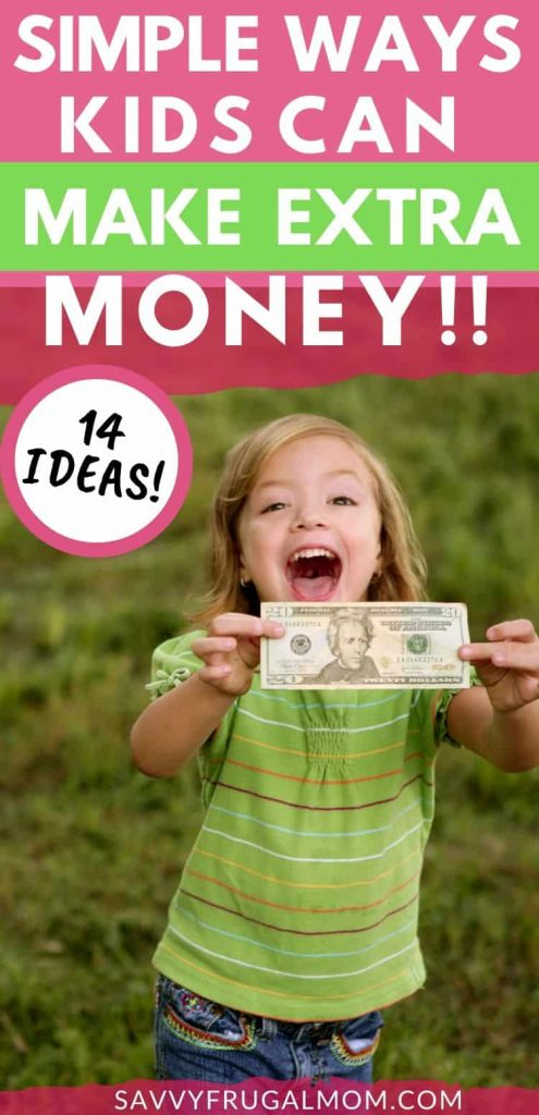 simple ways kids can make extra money