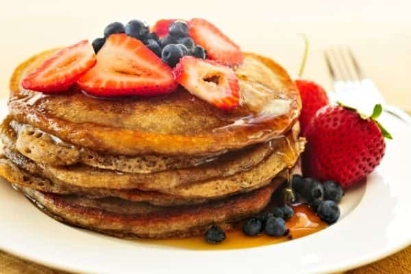 stack of pancakes as a cheap meal idea