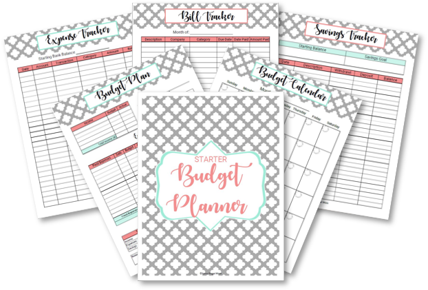 6 printables for free budget template
