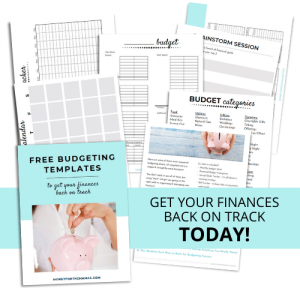 printable free budgeting template